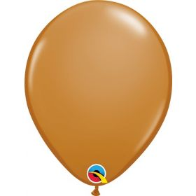 16 inch Qualatex Mocha Brown Latex Balloons - 50 count