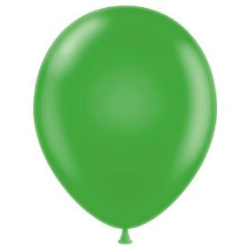 11 inch Latex Balloons - Metallic Apple Green - 100 count