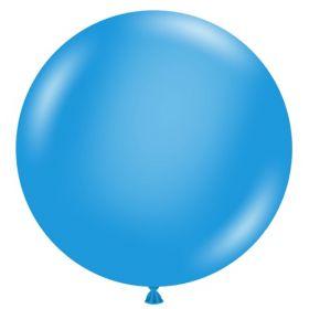 36 inch Tuf-Tex Standard Blue Latex Balloon