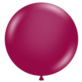 36 inch Tuf-Tex Crystal Burgundy Latex Balloon