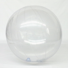 10 foot Clear Vinyl Advertising Balloon