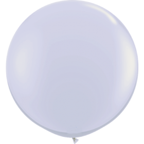 36 inch Tuf-Tex Round Latex Balloons - Fog