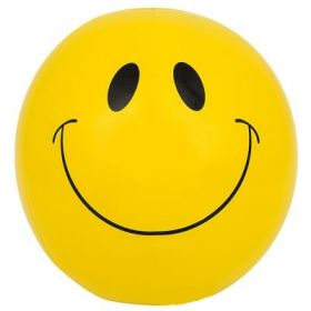 16 inch Smiley Face Beach Ball (11 inch inflated diameter)