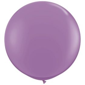 36 inch Tuf-Tex Round Latex Balloons - Lavender