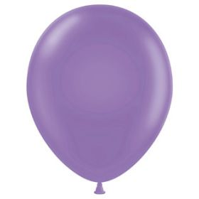 17 inch Tuf-Tex Lavender Latex Balloons - 50 count
