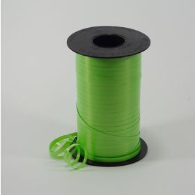 Lime Green Curling Ribbon Spool - 3/16 inch x 500 yards