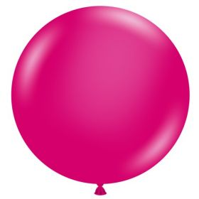 36 inch Tuf-Tex Crystal Magenta Latex Balloon