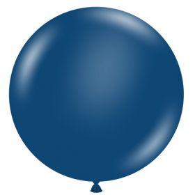 36 inch Tuf-Tex Navy Blue Latex Balloon
