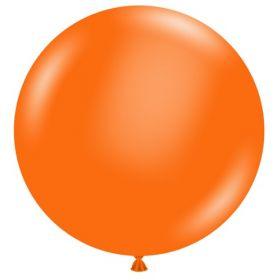 36 inch Tuf-Tex Standard Orange Latex Balloon