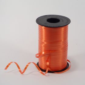 Orange Curling Ribbon Spool - 3/16 inch x 500 yards