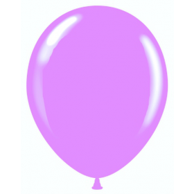 9 inch Party Style Wild Orchid Latex Balloons - 100 count