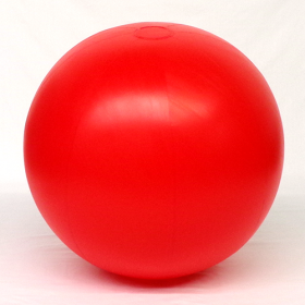 4 foot Red Vinyl Display Ball