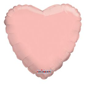 18 inch Rose Gold Heart Foil Balloons