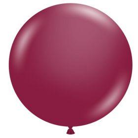36 inch Tuf-Tex Sangria Latex Balloon