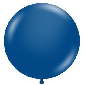 36 inch Tuf-Tex Crystal Sapphire Blue Latex Balloon