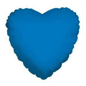 18 inch Sapphire Blue Heart Foil Balloons