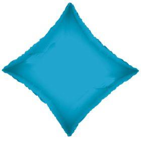 18 inch Turquoise Diamond Foil Balloons
