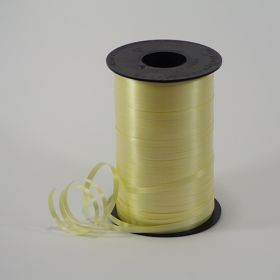 Yellow Curling Ribbon Spool - 3/16 inch x 500 yards