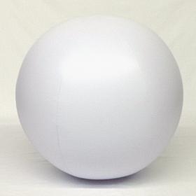 10 foot White Vinyl Advertising Balloon