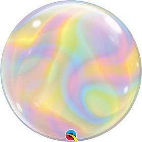 22 inch Qualatex Iridescent Bubble Balloon