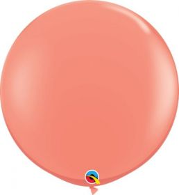36 inch Qualatex Coral Latex Balloons - 2 count