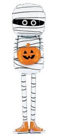 60 inch Betallic Special Delivery Mummy Shape Foil Balloon - Pkg