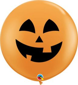 36 inch Qualatex Jolly Jack Halloween Latex - 2 count