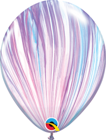 Qualatex Fashion Super Agate 11 inch Latex Balloon - 25 count