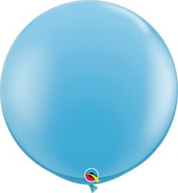 36 inch Qualatex Pale Blue Latex Balloons - 2 count