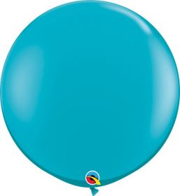 36 inch Qualatex Tropical Teal Latex Balloons - 2 count