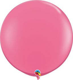36 inch Qualatex Rose Latex Balloons - 2 count