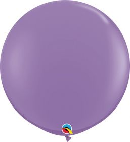 36 inch Qualatex Spring Lilac Latex Balloons - 2 count