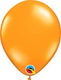9 inch Mandarin Orange Latex Balloons - 100 count