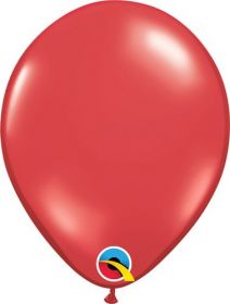 9 inch Ruby Red Latex Balloons - 100 count