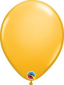 5 inch Qualatex Goldenrod Latex Balloons - 100 count