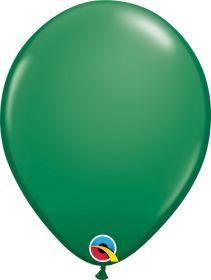 5 inch Qualatex Green Latex Balloons - 100 count