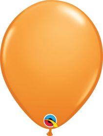 5 inch Qualatex Orange Latex Balloons - 100 count