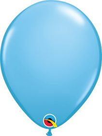 11 inch Qualatex Pale Blue Latex Balloons - 100 count