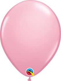 5 inch Qualatex Pink Latex Balloons - 100 count