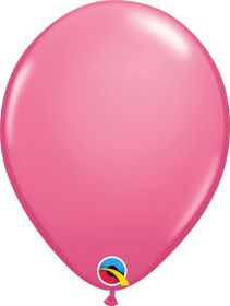 16 inch Qualatex Rose Latex Balloons - 50 count