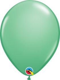 11 inch Qualatex Wintergreen Latex Balloons - 100 count