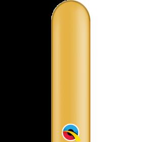 260Q Qualatex Metallic Gold Latex Balloons - 100 count