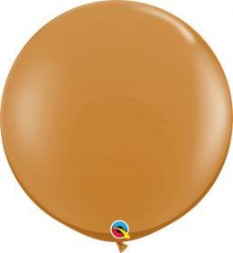 36 inch Qualatex Mocha Brown Latex Balloons - 2 count