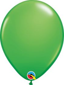 5 inch Qualatex Spring Green Latex Balloons - 100 count