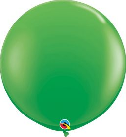 36 inch Qualatex Spring Green Latex Balloons - 2 count