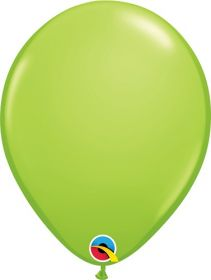 11 inch Qualatex Lime Green Latex Balloons - 100 count