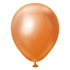 12 inch Kalisan Copper Mirror Chrome Latex Balloons - 100 ct