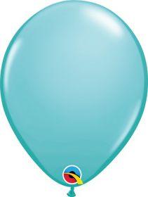 16 inch Qualatex Caribbean Blue Latex Balloons - 50 count