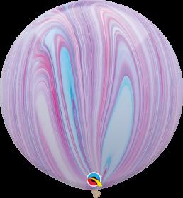 Qualatex Fashion Super Agate 30 inch Latex Balloon - 2 count