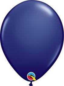 5 inch Qualatex Navy Latex Balloons - 100 count